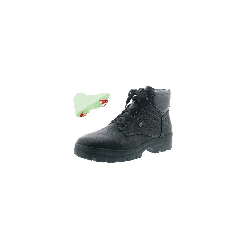 Winter boot with pivoting grip
