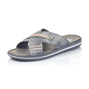 Blue Slipper Sandal 21057-14