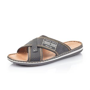 Black Slipper Sandal 21064-01