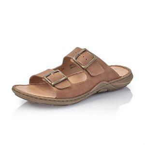 Brown Slip on Sandal 22056-24