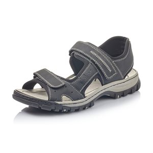 Black Sport Sandal 25084-00