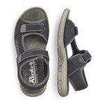 Sandale, Noire 25161-01