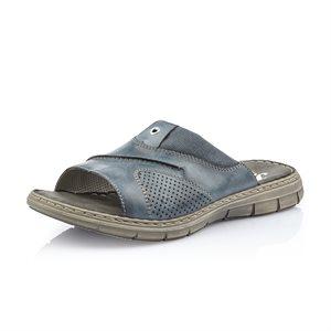 Blue Slip on Sandal 25185-14