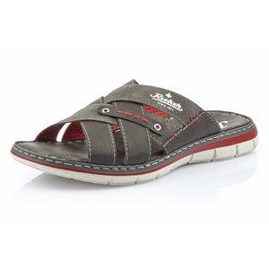 Grey Slip on Sandal 25199-43