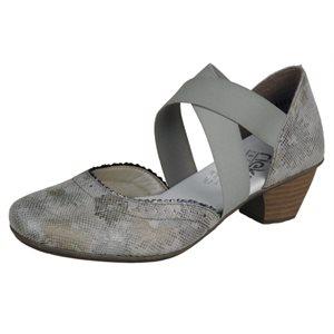 Grey Heel Shoes 41753-90