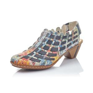 Multi Color Heel Shoes 46778-91
