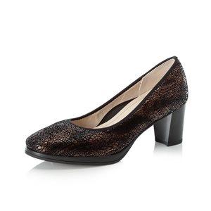 Black High Heel Shoe 49560-01