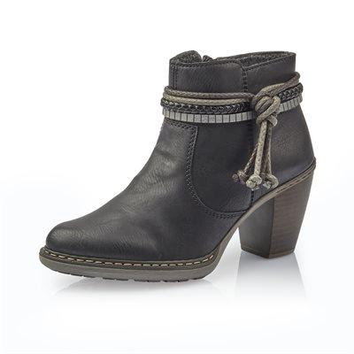 Black Heel Boothies 55298-00