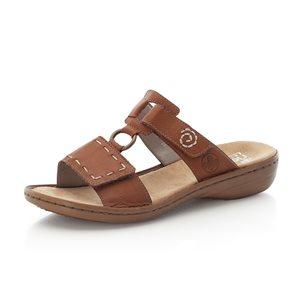 Brown Slipper Sandal 60822-24
