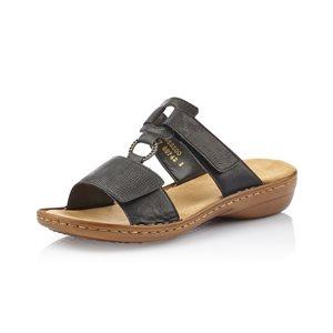 Black Slip on Sandal 60885-00