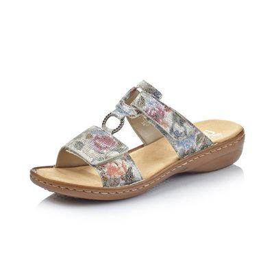 Sandale mule Blanc / Multi 60885-90