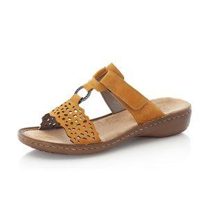Yellow Slipper Sandal 608A7-68