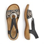 Black Sandal 608B9-00