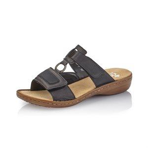Black Slip on Sandal 608N9-00
