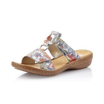 Multi Color Slip on Sandal 608P9-90