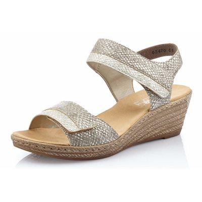 Beige Wedge Sandal 62470-64