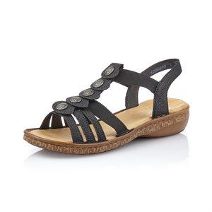 Black Sandal 62866-00