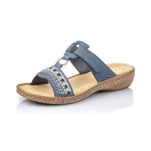 Blue Slip on Sandal 628M6-14
