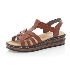 Brown Platform Sandal 62918-22
