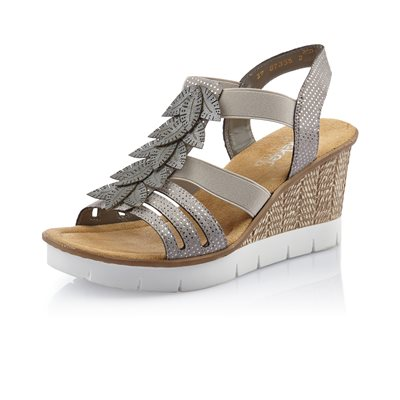 Grey Wedge Sandal 65505-42
