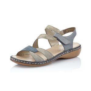 Adjustable Sport Sandal, Combo Grey 65969-42