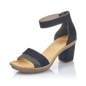 Sandale à talon haut Noir 66534-90