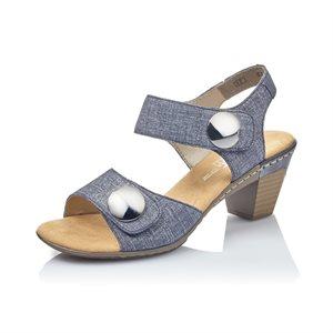 Sandale à talon haut Bleu 67369-13