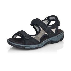 Black Sport Sandal 68872-00