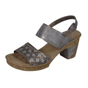 Sandale Talon, Gris 69730-40