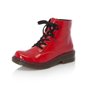 Red laced Bootie 76240-33