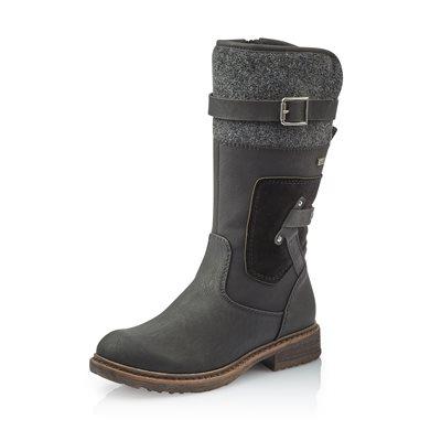 Black Waterproof Winter Boot 94761-00