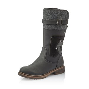 Black Waterproof Winter Boot 94761-00