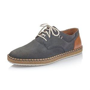 Blue Laced Shoe B5215-14