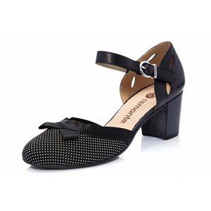 Black Heel Mary Jane D0808-02
