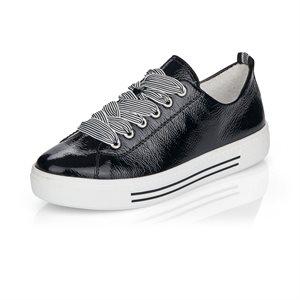 Black Laced Shoe D0900-02