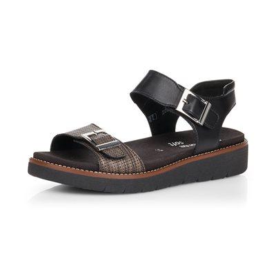 Black Sandal D2051-02