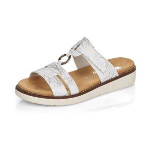 Silver Slipper Sandal D2056-80