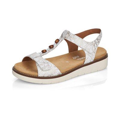 Silver Sandal D2062-80