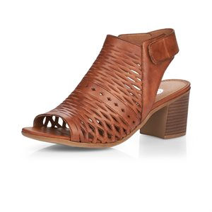 Brown High Heel Sandal D2170-24