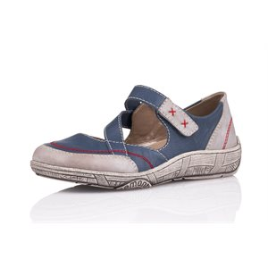 Blue Orthotic Friendly Shoes D3817-14