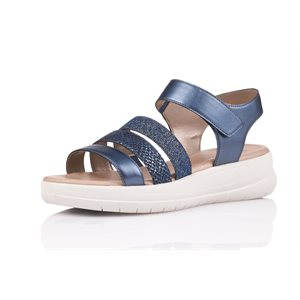 Metallic-Blue Sandal D4252-14