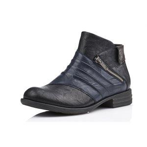 Black Booties D4971-02