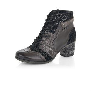Grey High Heel Bootie D5470-45