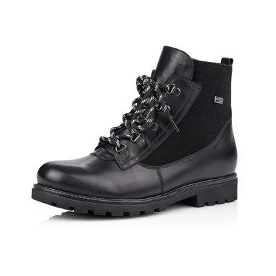 Black Waterproof Winter Boot D7461-01