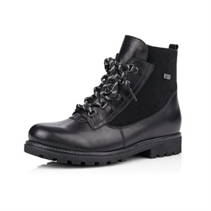 Black Waterproof Winter Boot D7461-01