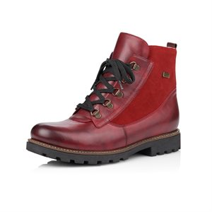 Red Waterproof Winter Boot D7461-35