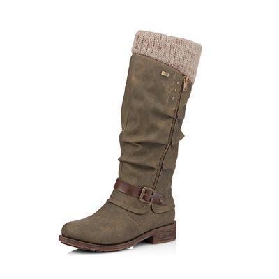Olive Waterproof Winter Boot D8076-54
