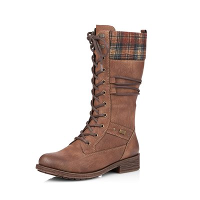 Brown Waterproof Winter Boot D8077-25