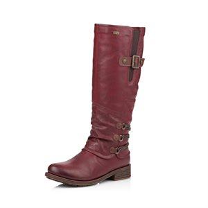 Red Waterproof Winter Boot D8078-35