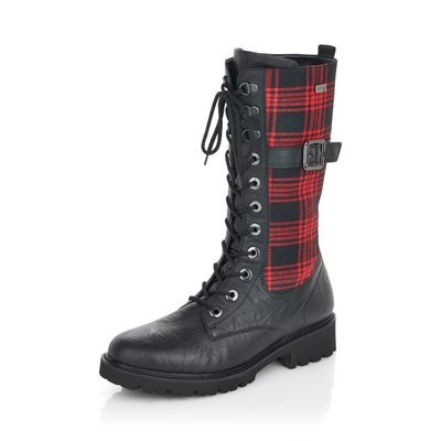 Black Waterproof Winter Boot D8674-02